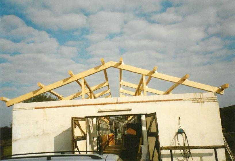 Renovierung vom alten Stall