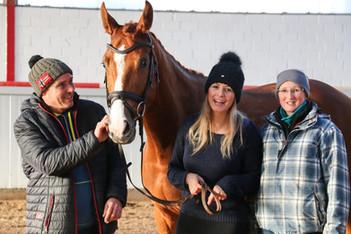 Dirk, Jules und Sandra