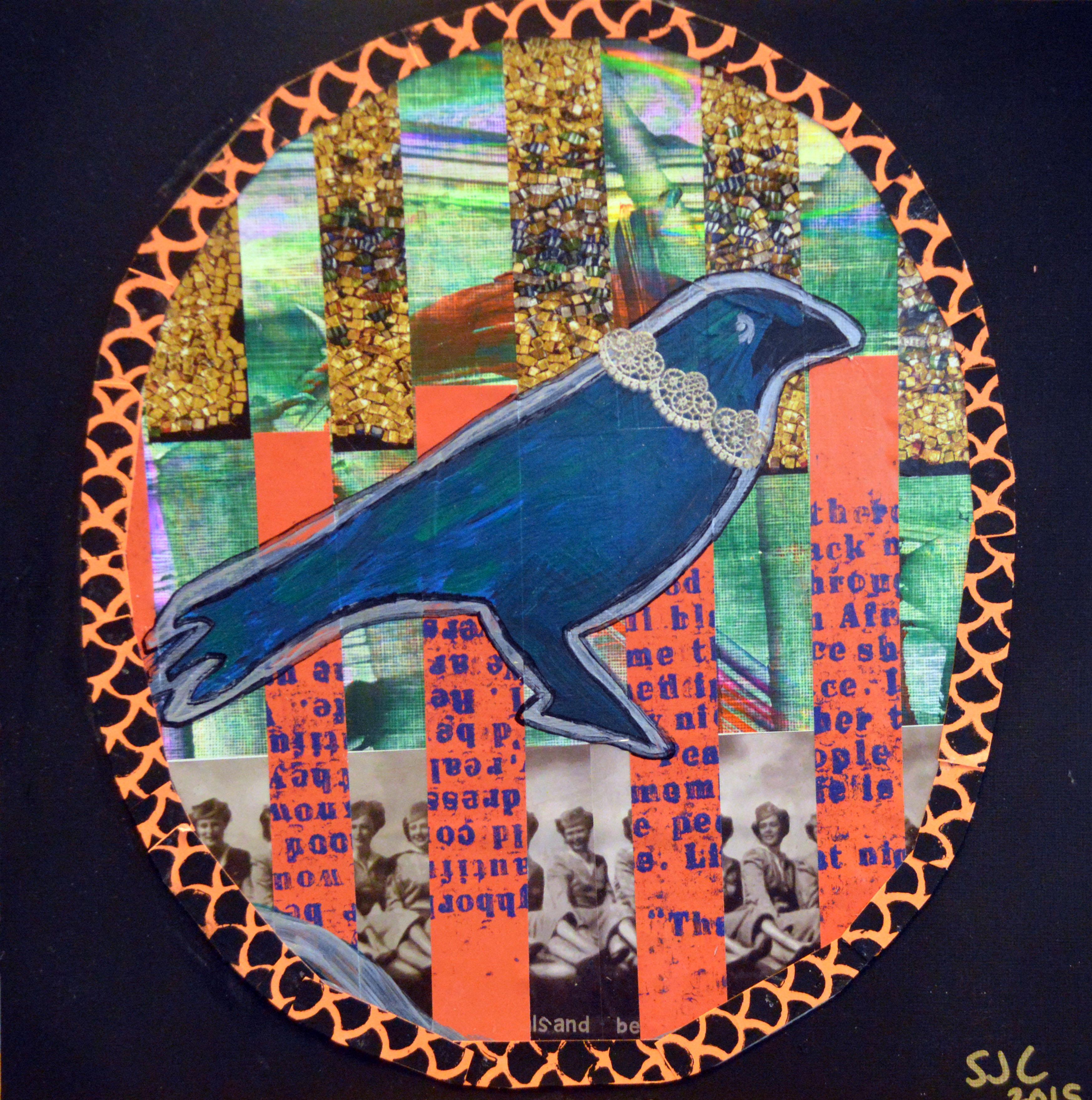 Ringed Crow