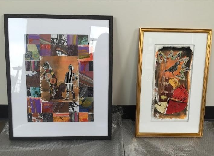 Framed Collage Show Pieces