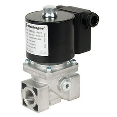 gas interlock solenoid valve