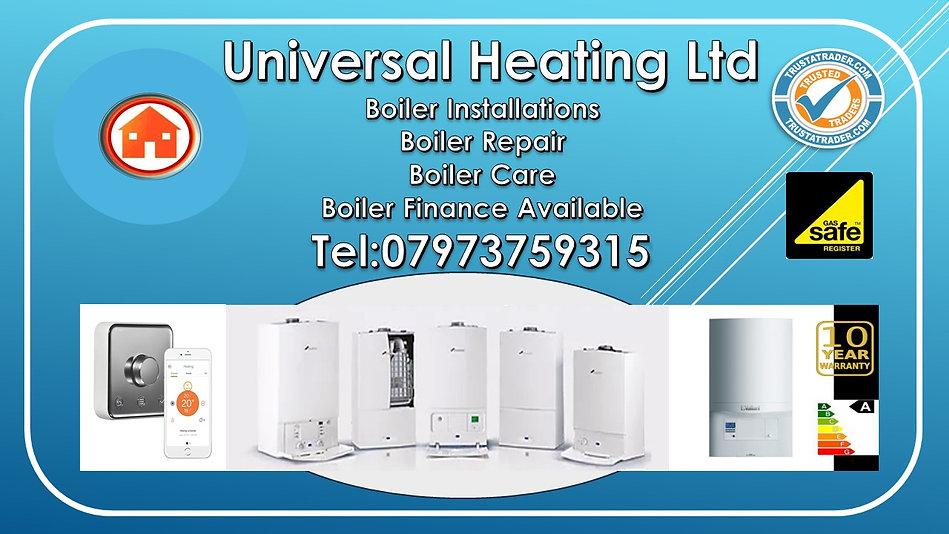 Boiler Finance Available