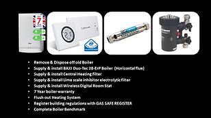 Baxi Boiler Upgrade Pack