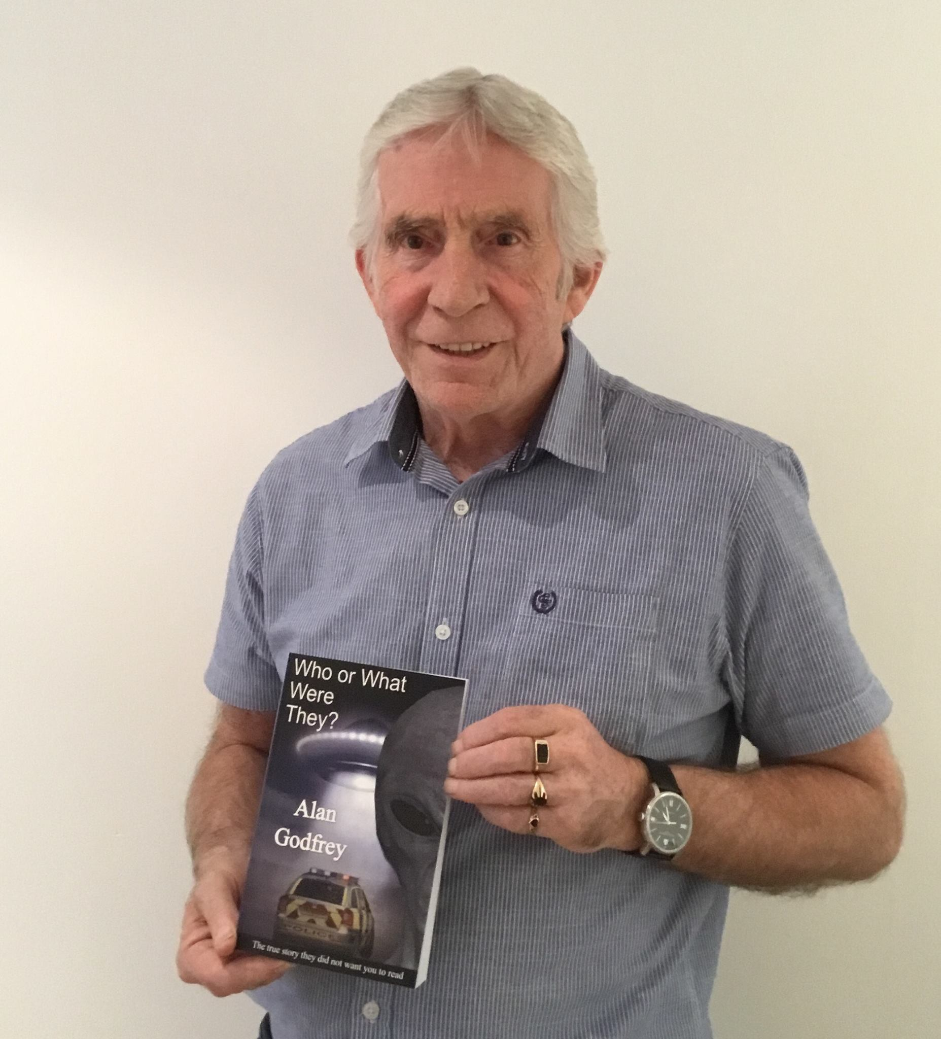 The Author With His Book