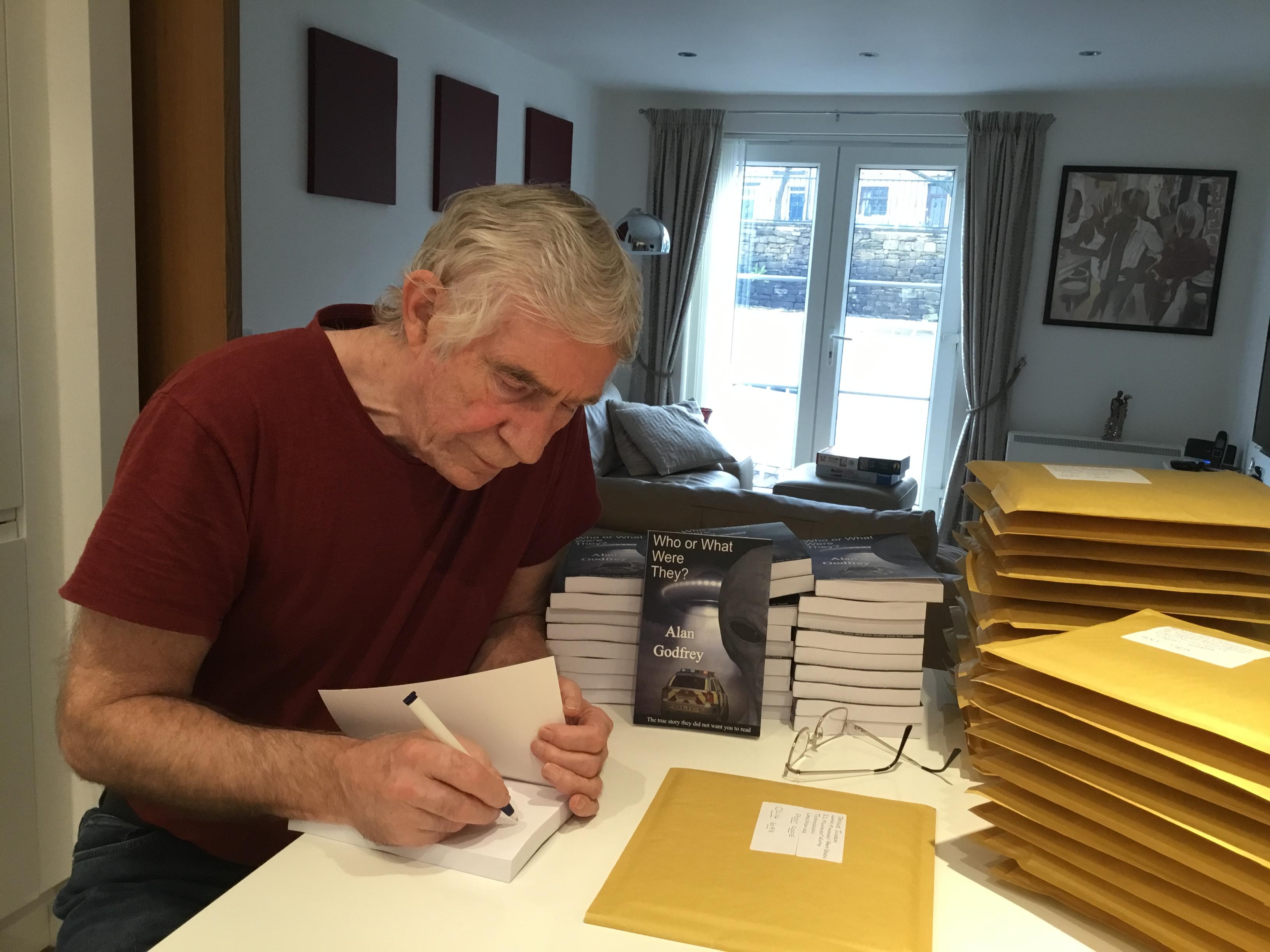 Author Signing Books