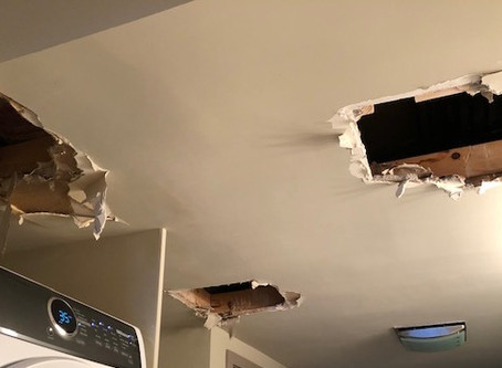 Thoughts on an Emergency Home Repair