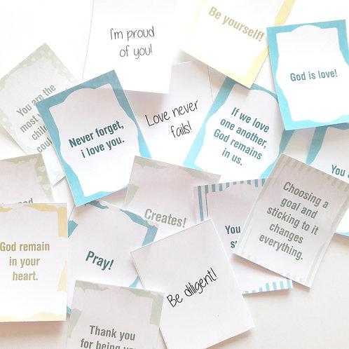 Love Words - Pastel