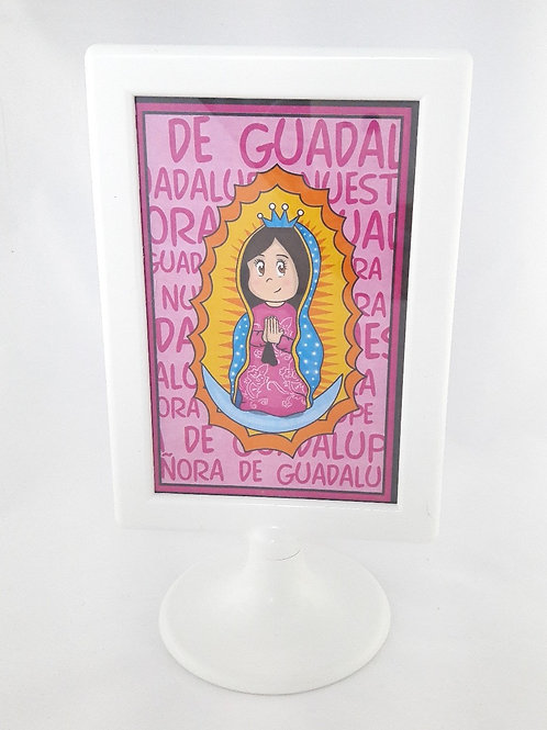 Cuadro Guadalupanita Cute - Rosa