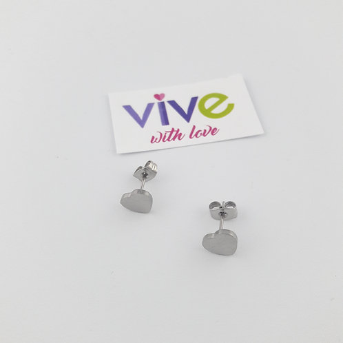 Immaculate Heart Earrings / Aretes Inmaculado Corazòn