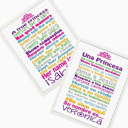 Reglas para Princesas - Primavera