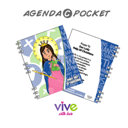 Agenda C Pocket - Help of Christians Cute / Auxiliadora Cute