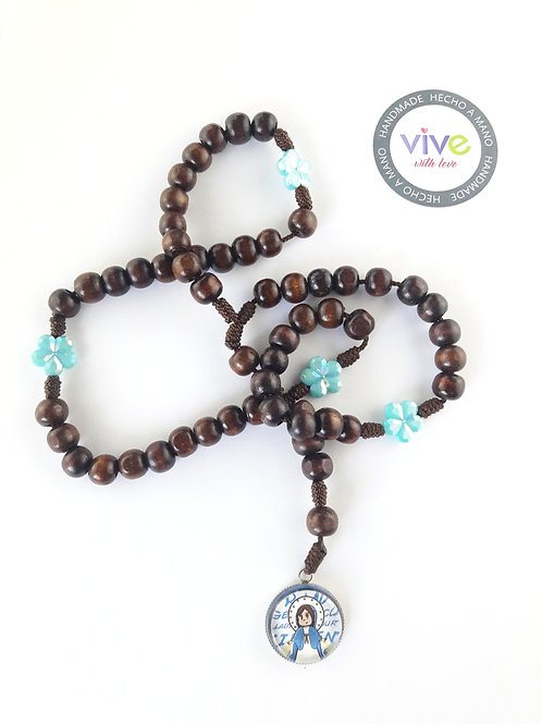 Rosary Miraculous Cute /  Rosario Milagrosa Cute