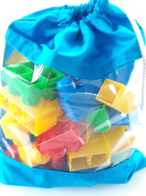 Plastic Window Bag / Bolsa con ventana Plastica