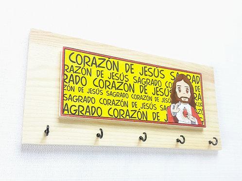 Porta llaves Sagrado Corazòn C