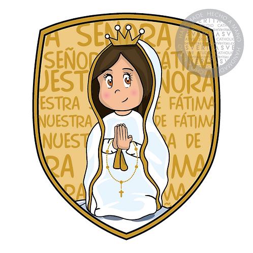 Shield of Faith  Fatima Cute / Escudo de Fe Fàtima Cute