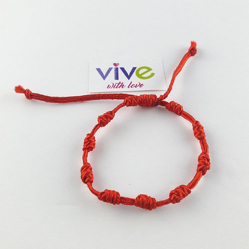 Bracelet and Rosary Decade Heart / Pulsera y Denario Heart
