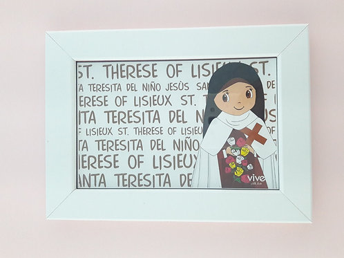 Frame Little Flower / Cuadro Santa teresita