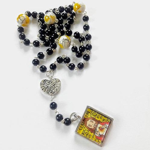 Rosary Sacred Heart Cute