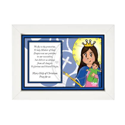 Help of Christians Cute (Framed) / Auxiliadora Cute (Cuadro)