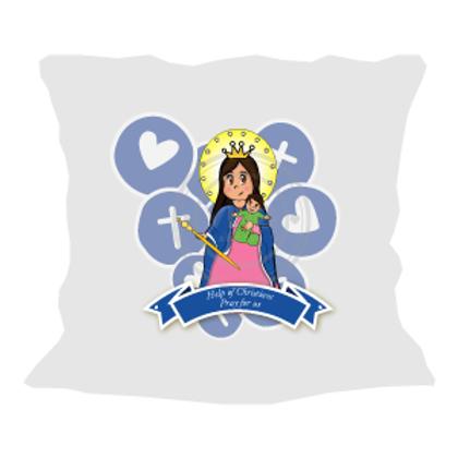 Help of Christians Cute - Pillow / Cojin Auxiliadora Cute
