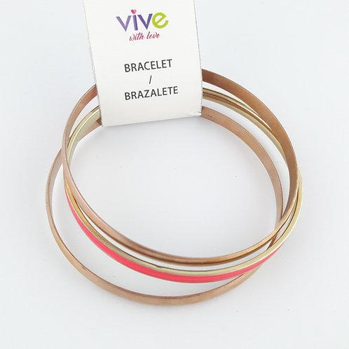 Set Bracelets Auxiliadora / Set Pulseras Auxiliadora
