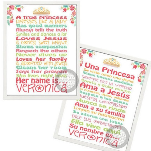 Reglas para Princesas - Otoño