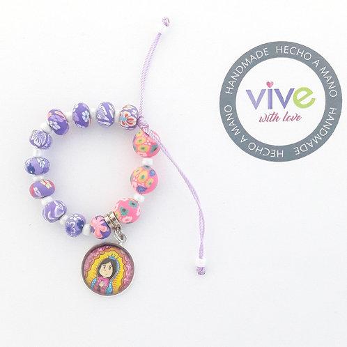 Bracelet Guadalupanita Cute