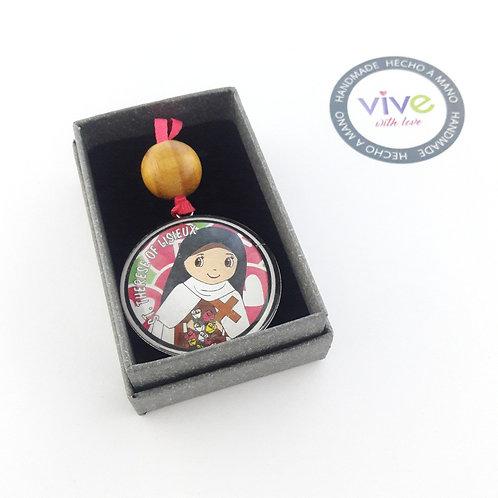 Medallion Little Flower / Medallòn Teresita