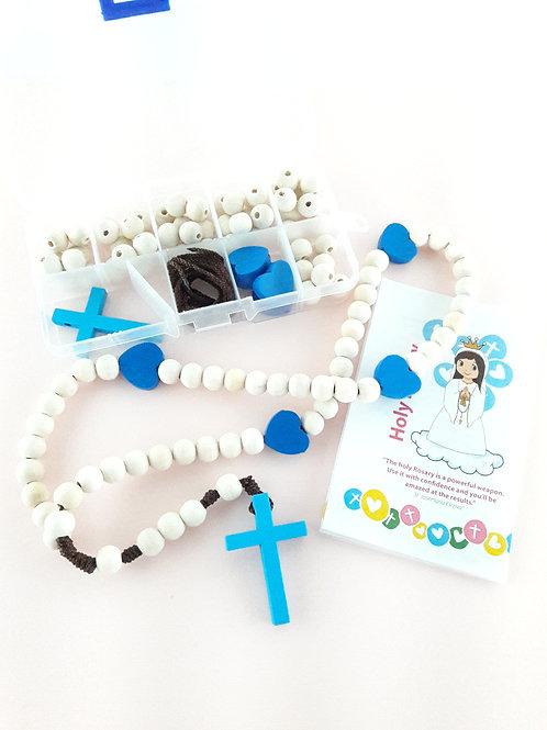 Rosary Making Kit - Wood