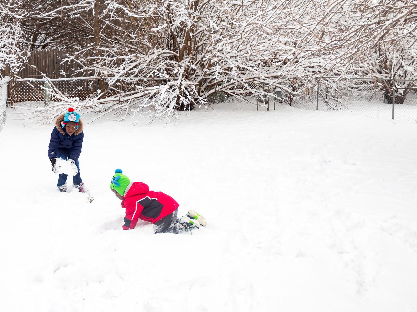 Snowy Day in OKC