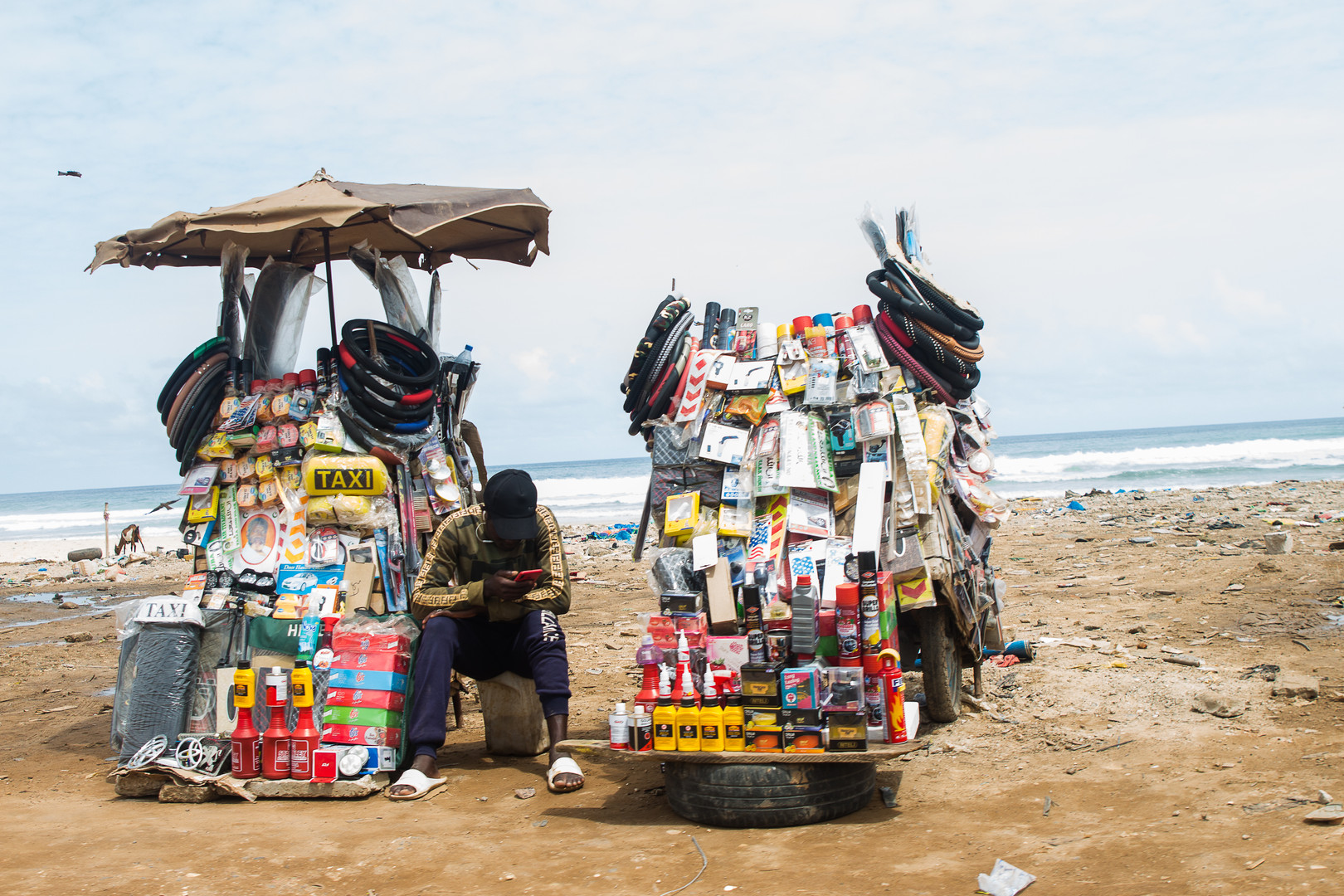 Plage de Camberene, Senegal