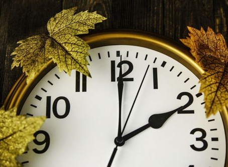 """Het is weer de tijd om onze klok een uurtje terug te draaien. """"Hoe vermijd je een winter dip """""""