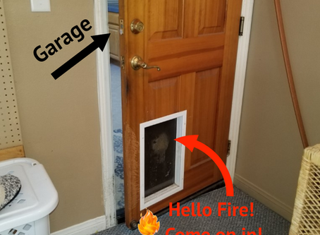 Hello Fire! Come on in!