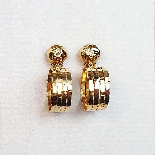 Boucles d'oreilles ART 0301 Doré