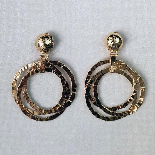 Boucles d'oreilles ART 0271 Doré