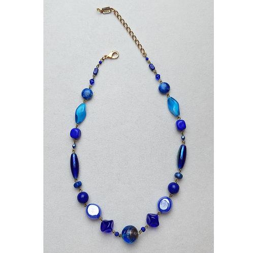 Collier POG 231 D/Bleu