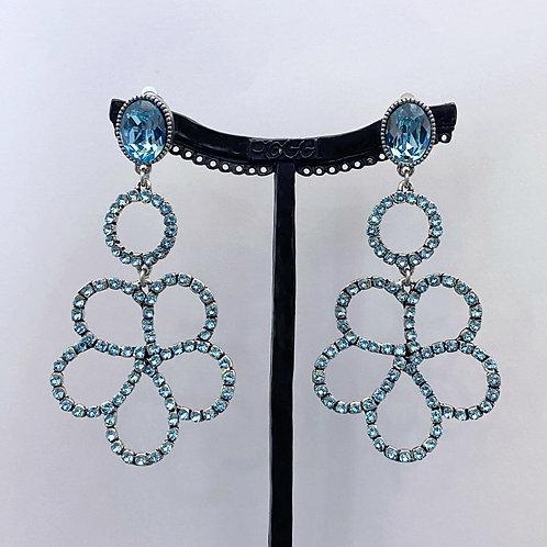 Boucles d'oreilles TES 4 A/Turquoise