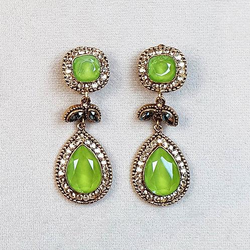 Boucles d'oreilles ODE 55 D/Lime
