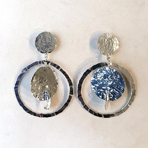 Boucles d'oreilles ART 0244 Argent