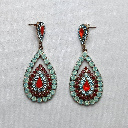 Boucles d'oreilles BAL SR D/Indian Sapphire