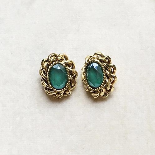 Boucles d'oreilles ART 0190 D/Royal Green