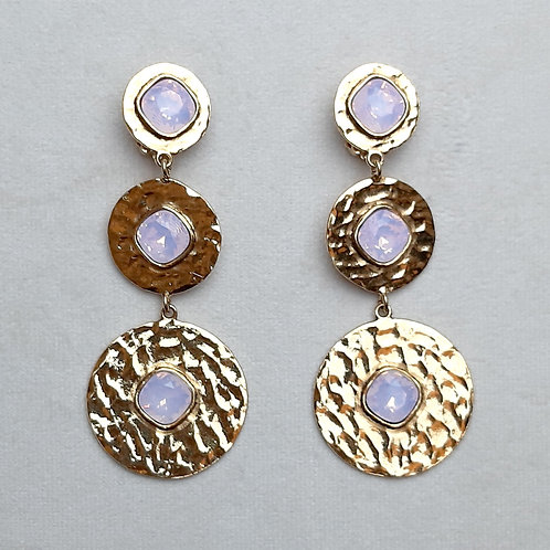 Boucles d'oreilles FAST 44 D/Rose Water Opal