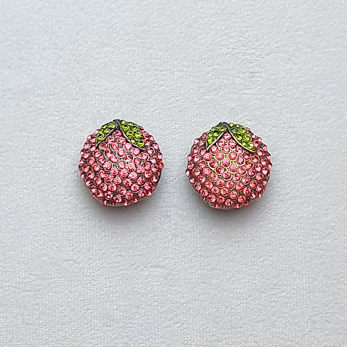 Boucles d'oreilles FRU 1 B/Rose Peach