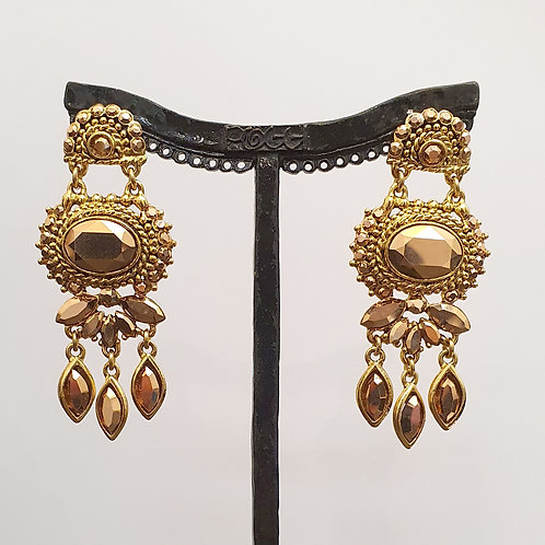 Boucles d'oreilles SOY 10 D/Metallic Gold