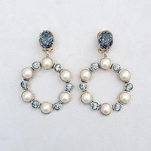 Boucles d'oreilles RAI 55 D/Perle