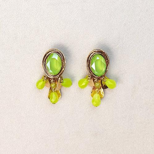Boucles d'oreilles FAST 39 D/Lime