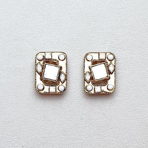 Boucles d'oreilles HIT 11 D/White Opal