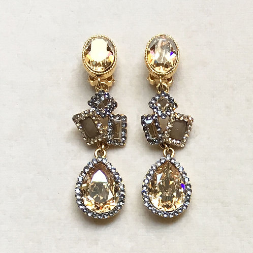 Boucles d'oreilles MIX 50 D/Golden