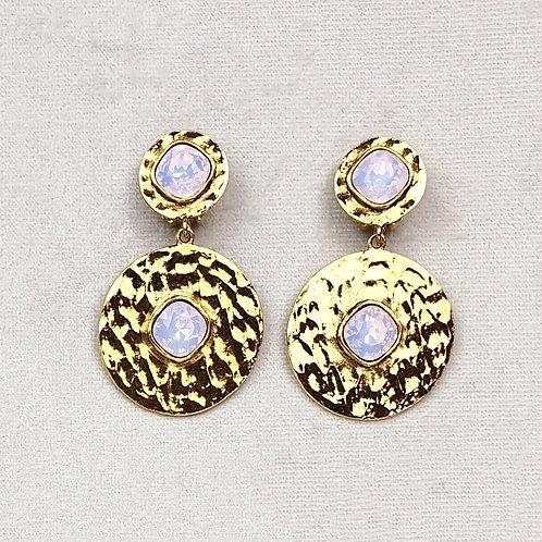 Boucles d'oreilles FAST 42 D/Rose Water Opal