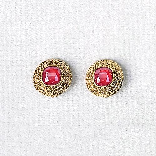 Boucles d'oreilles ELO 3 D/Royal Red
